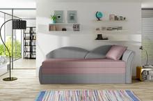 Sofa rozkładana AGA - tkanina Malmo 61/Malmo 90