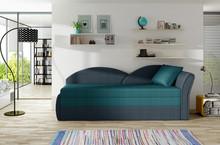 Sofa rozkładana AGA - tkanina Malmo 85/Malmo 81