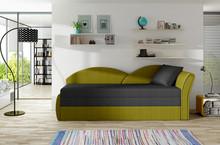 Sofa rozkładana AGA - tkanina Malmo 96/Malmo 41