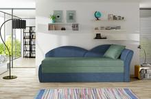 Sofa rozkładana AGA - tkanina Soro 34/Soro 76