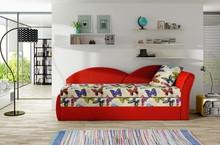 Sofa rozkładana AGA - tkanina Butterfly 04/Alova 46