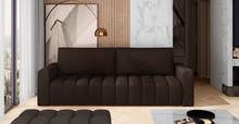 Sofa rozkładana pikowana LAZARO - tkanina Monolith 29