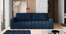 Sofa rozkładana pikowana LAZARO - tkanina Monolith 77