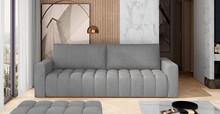 Sofa rozkładana pikowana LAZARO - tkanina Monolith 84