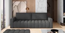 Sofa rozkładana pikowana LAZARO - tkanina Monolith 97