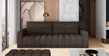 Sofa rozkładana pikowana LAZARO - tkanina Dora 28