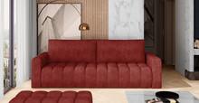 Sofa rozkładana pikowana LAZARO - tkanina Dora 63