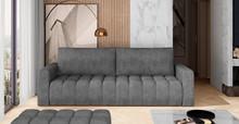 Sofa rozkładana pikowana LAZARO - tkanina Dora 95