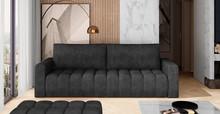 Sofa rozkładana pikowana LAZARO - tkanina Dora 96