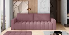 Sofa rozkładana pikowana LAZARO - tkanina Matt Velvet 63