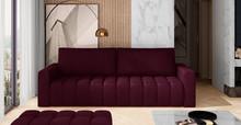 Sofa rozkładana pikowana LAZARO - tkanina Matt Velvet 68