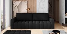 Sofa rozkładana pikowana LAZARO - tkanina Matt Velvet 99
