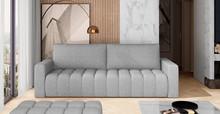 Sofa rozkładana pikowana LAZARO - tkanina Grande 81