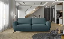 Sofa rozkładana z bokami MEGIS - tkanina Grande 75