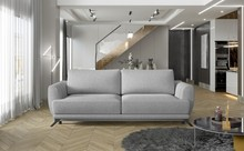 Sofa rozkładana z bokami MEGIS - tkanina Grande 81