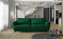 Sofa rozkładana z bokami MEGIS - tkanina Monolith 37