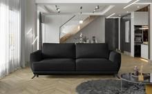 Sofa rozkładana z bokami MEGIS - tkanina Monolith 97