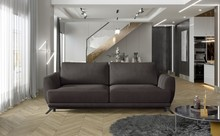 Sofa rozkładana z bokami MEGIS - tkanina Matt Velvet 29