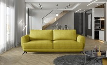 Sofa rozkładana z bokami MEGIS - tkanina Omega 68