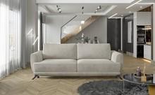 Sofa rozkładana z bokami MEGIS - tkanina Paros 02