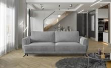 Sofa rozkładana z bokami MEGIS - tkanina Paros 05