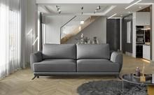 Sofa rozkładana z bokami MEGIS - tkanina Sawana 05
