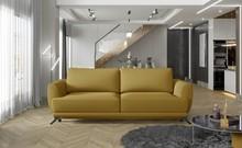 Sofa rozkładana z bokami MEGIS - tkanina Solar 45