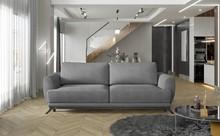Sofa rozkładana z bokami MEGIS - tkanina Texas 92