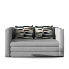 Sofa 2-osobowa rozkładana NEVA - tkanina Sawana 21/Lima 67