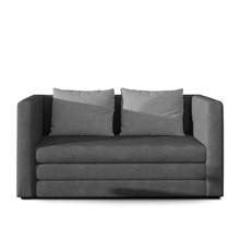 Sofa 2-osobowa rozkładana NEVA - tkanina Soro 93/Soro 83