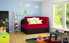 Sofa rozkładana dziecięca ROSA - tkanina Alova 46/Alova 04
