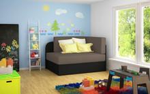 Sofa rozkładana dziecięca ROSA - tkanina Alova 10/Alova 04