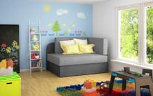 Sofa rozkładana dziecięca ROSA - tkanina Omega 02/Omega 13