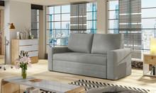 Sofa 2-osobowa rozkładana WAVE - tkanina Paros 05