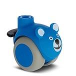 Kółko obrotowe Smiles z hamulcem, Niebieski Miś fi 50 Kółko uniwersalne, przeznaczone do powierzchni twardych i miękkich. Wysokiej jakości kółko...