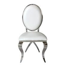 Krzesło welurowe MEDALION Y815 - ecru