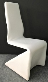 Krzesło ENZO ekoskóra - biały