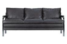 Sofa TUBE 2-osobowa ciepły szara