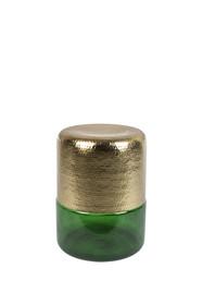 Stolik kawowy CAVE - zielony