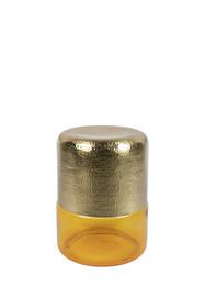 Stolik kawowy CAVE - złoty