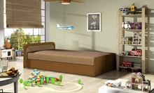 Łóżko dziecięce PARYS 80x190 - tkanina Alova 67