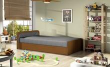 Łóżko dziecięce PARYS 80x190 - tkanina Sawana 05