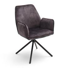Krzesło obrotowe z podłokietnikami OTTAWA 2 - antracyt