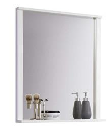 Lustro łazienkowe ORLANDO - biały mat