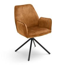 Krzesło obrotowe z podłokietnikami OTTAWA 2 - curry