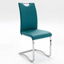 Krzesło KOELN - turkusowy