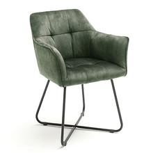 Krzesło z podłokietnikami PANAMA - oliwkowy