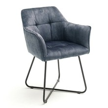 Krzesło z podłokietnikami PANAMA - turkusowy