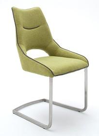 Krzesło na płozie ALDRINA - kiwi