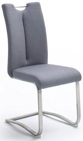Krzesło z uchwytem ARTOS - tkanina szara